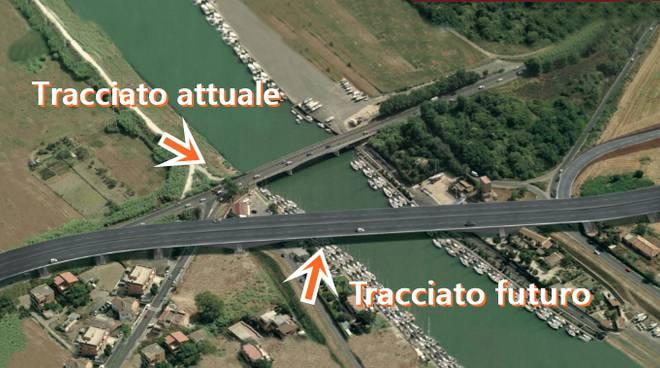Ponte della Scafa: iniziata la fase 1 del nuovo ponte