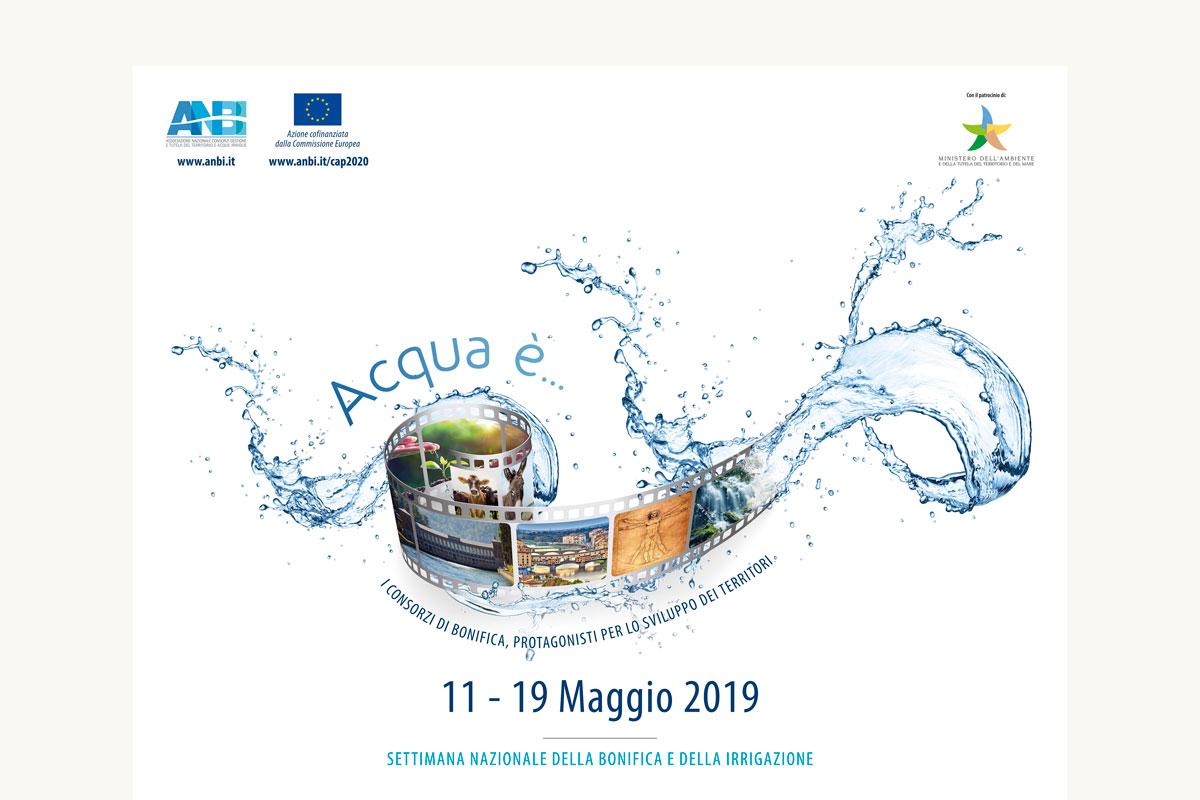 Al via dall'11 maggio la Settimana nazionale della bonifica e dell'irrigazione