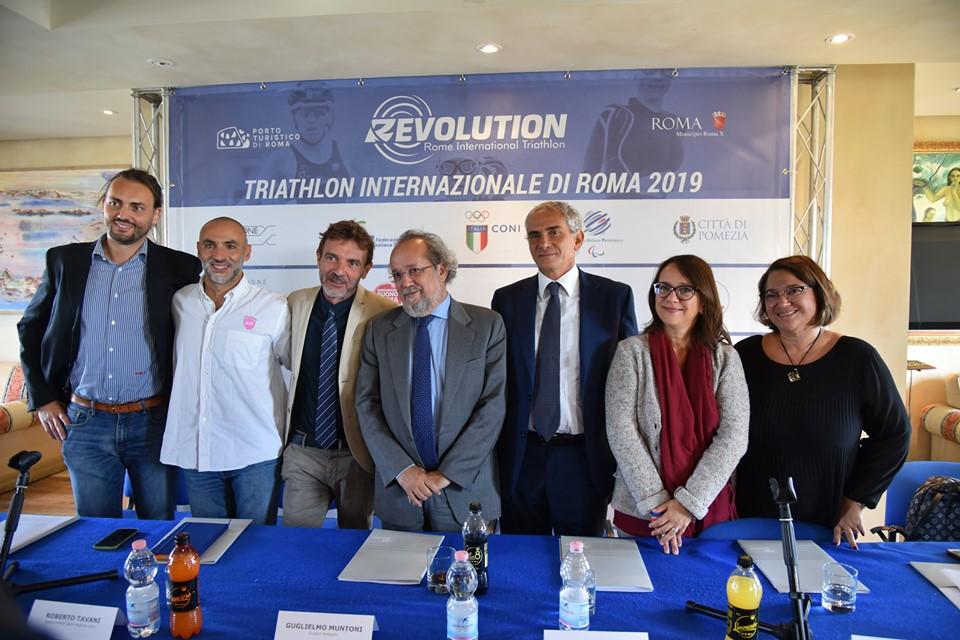 Il Triathlon Internazionale al Porto Turistico di Roma