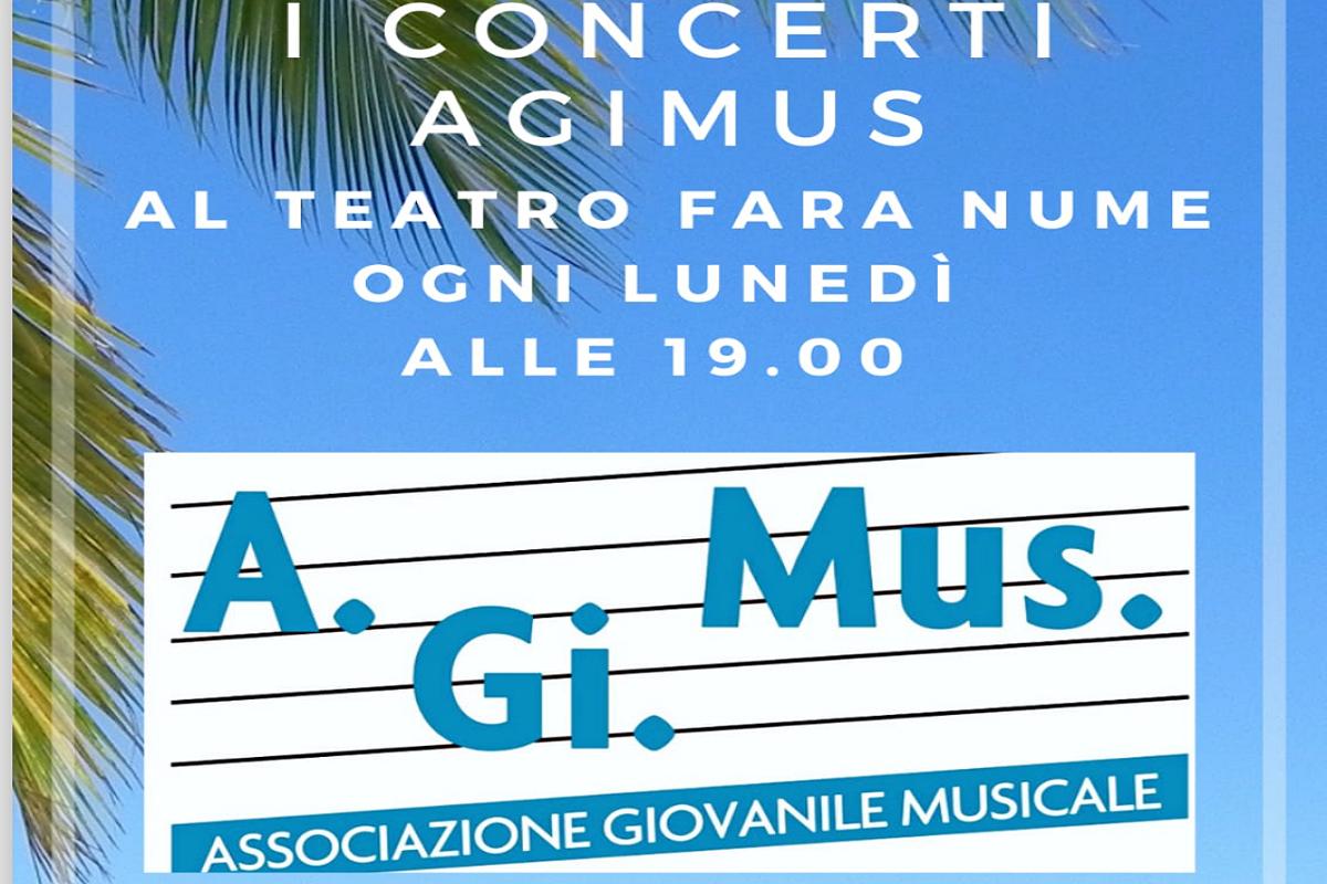 Concerti al Fara Nume: ogni lunedì in colaborazione con A.gi.Mus