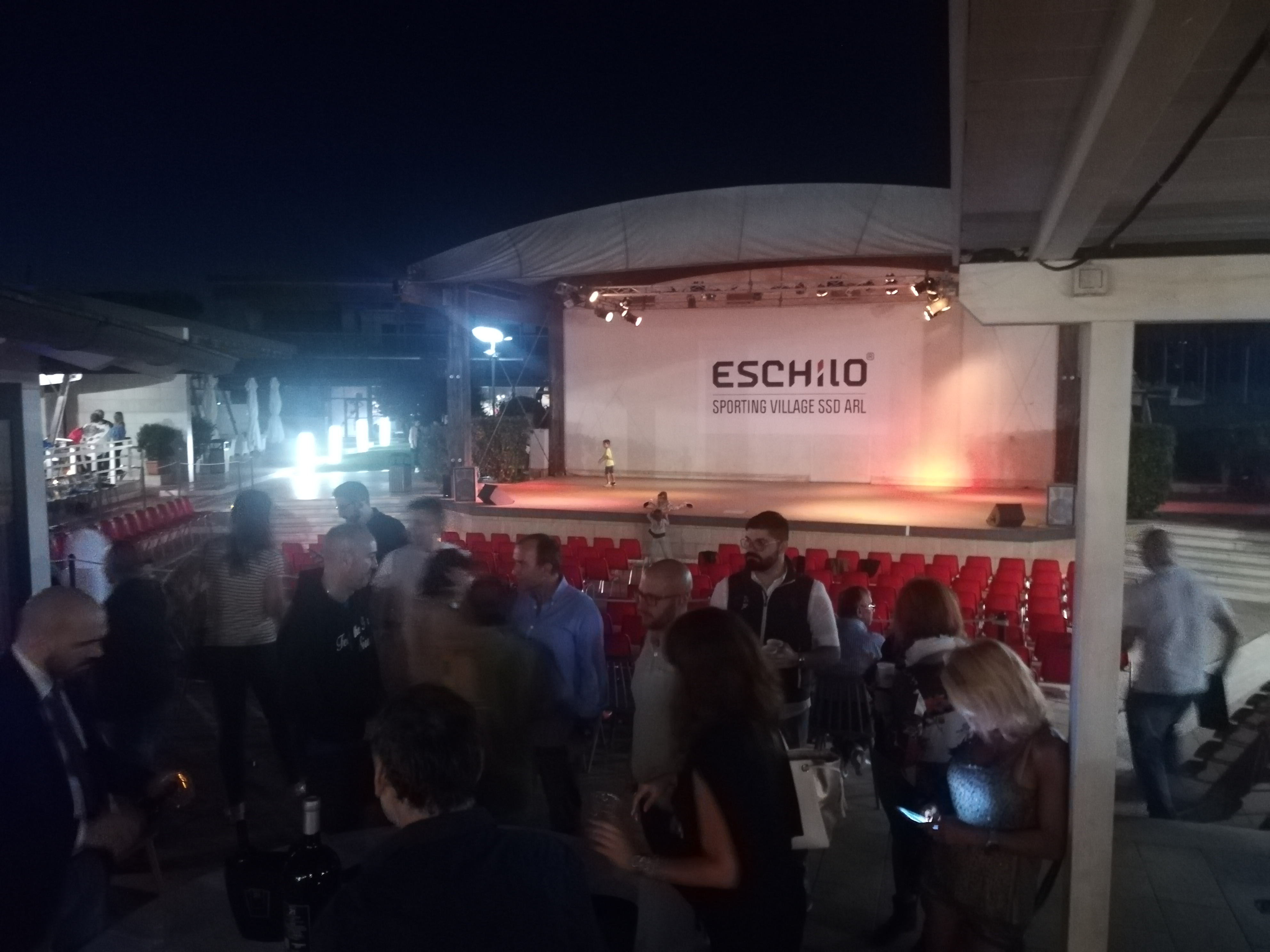 All' Eschilo Sporting Village all'Axa Marco Capretti presenta SCQR live