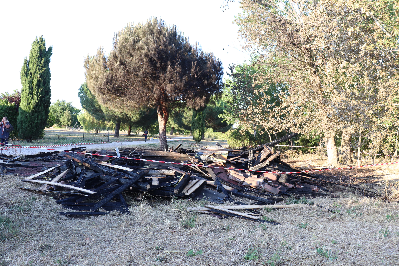 Incendio doloso al Parco della Madonnetta