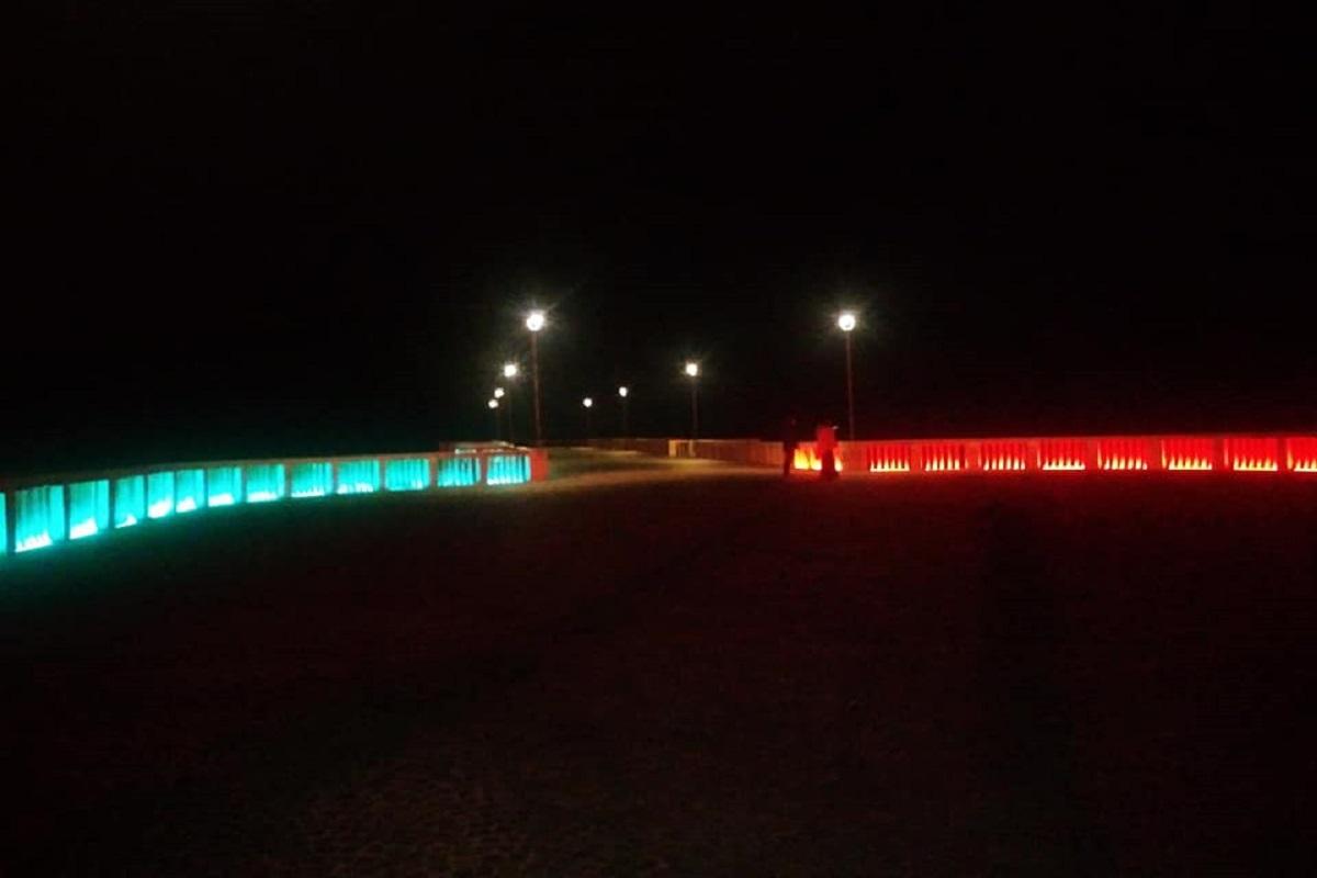 Capodanno 2021: spettacolo di luci al Pontile di Ostia