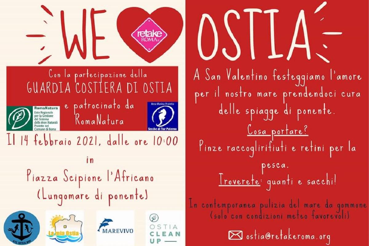 WE LOVE OSTIA Retake sulle spiagge di Ostia ponente