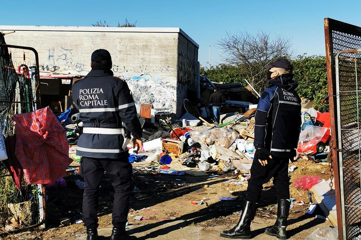 Dragoncello: intervento di bonifica in via Ruspoli