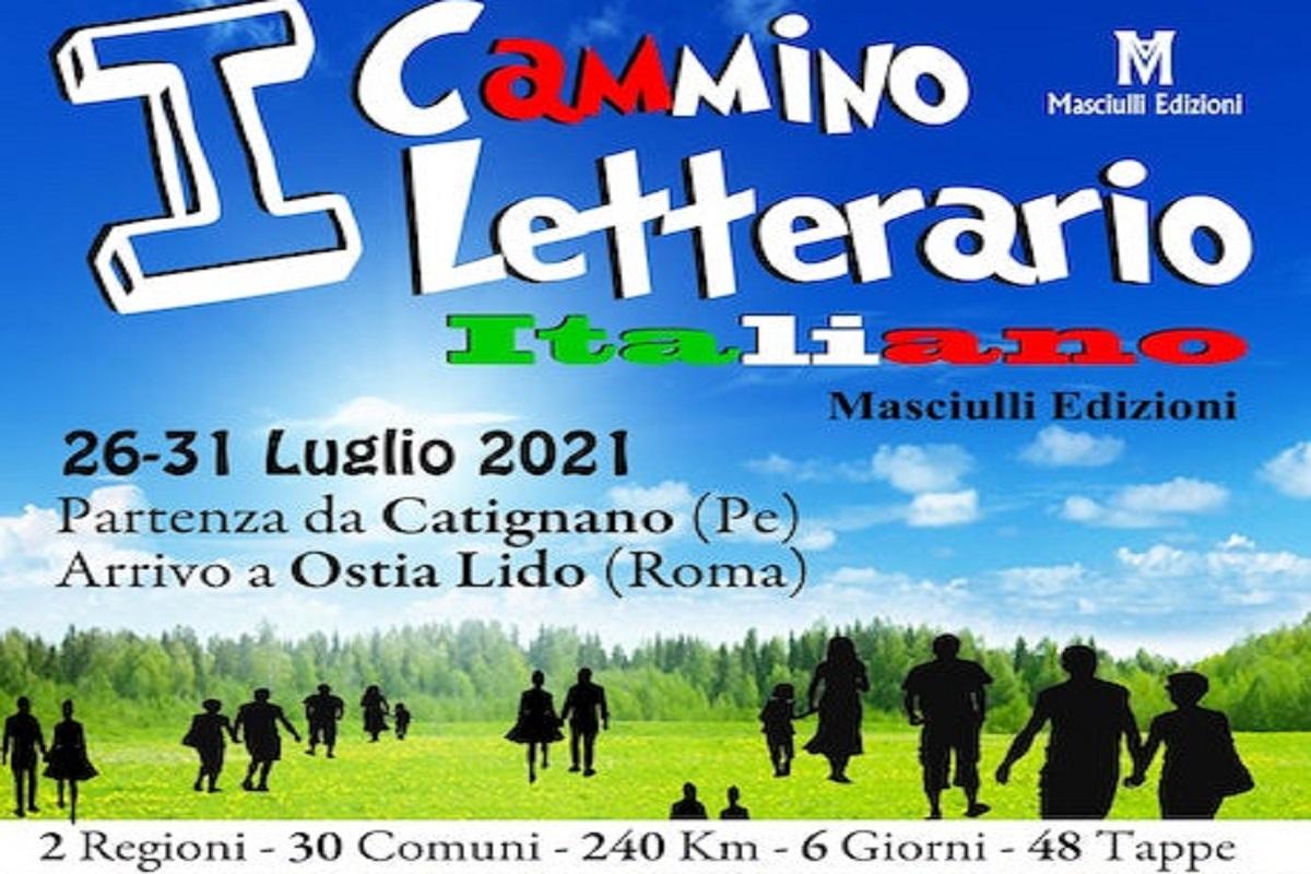 Cammino Letterario Italiano, ultima tappa a Ostia dopo 30 comuni