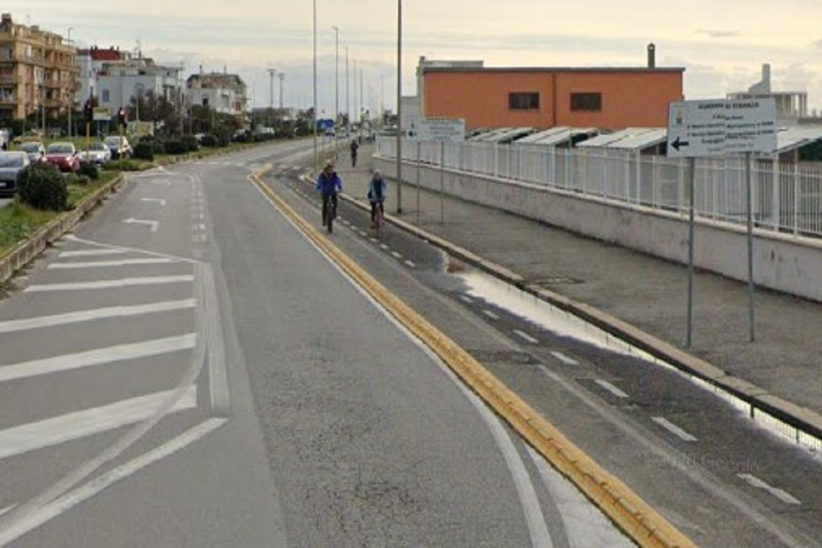 Lungomare di Ostia: al via i lavori sulla pista ciclabile
